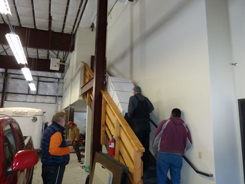 SAR Building Moving In Day - January 12, 2013