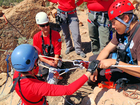 Technical Rescue - Steep Angle Rigging Training