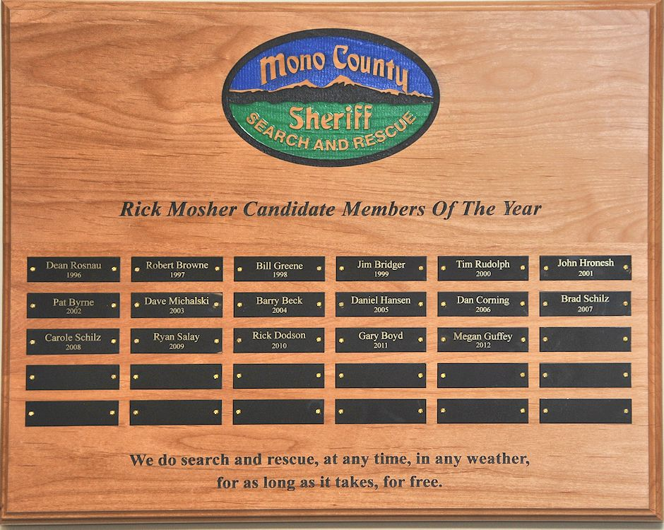 Rick Mosher Candidate Members Of The Year