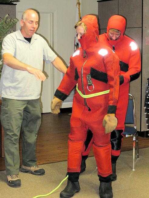 Lake Ice Rescue Classroom Training with Pete DeGeorge
