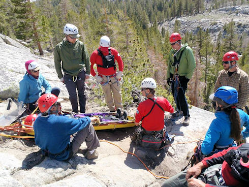 Steep Angle Rigging Training