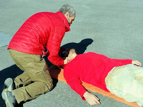 WFA and CPR Training by 4-Point Wilderness Medical Training