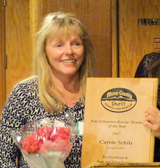 Carole Schilz - 2017 Pete Schoerner RescueMember of the Year