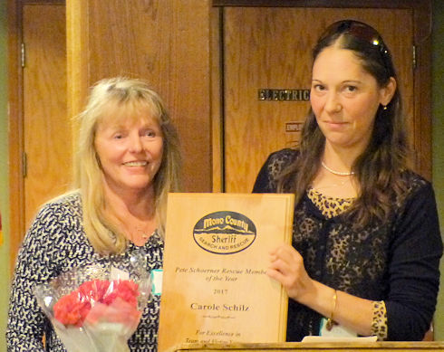 Carole Schilz - Pete Schoerner Rescue Member of the Year